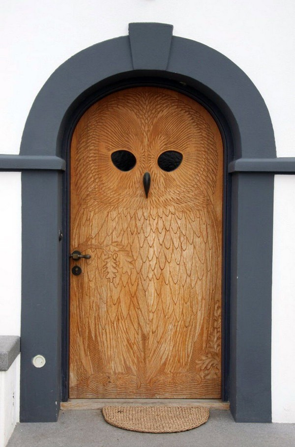 ورودی خانه و درب