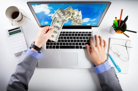 درآمد از اینترنت