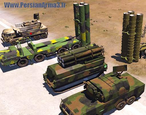 مودپک پدافند هوایی Pook SAM Pack-v4 برای Arma3(اپدیت شد)
