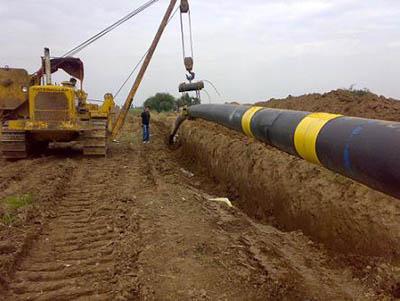 پروژه گازرسانی به الموت  فروردین 95- شمس الدین رجبی روستای باغدشت