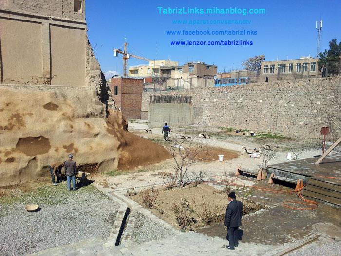 محوطه باستانی عصرآهن تبریز