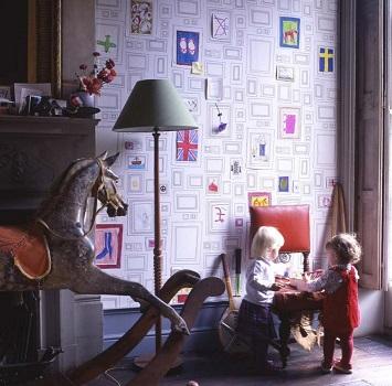 کاغذ دیواری شیک، مدرن و رومانتیک