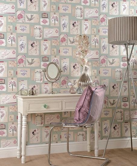 کاغذ دیواری مدرن و نوستالژیک- کاغذدیواری مدرن