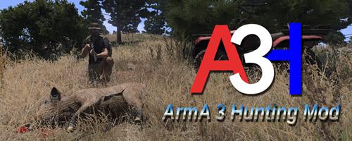 مود شکارچی (Hunting) در Arma3