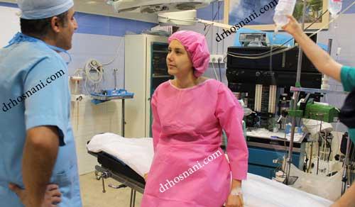 جراحی بینی دکتر حسنانی - ملاقات قبل از عمل