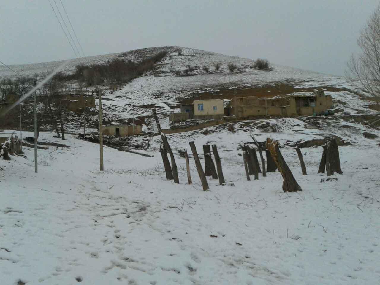 زمستان در روستا 1394