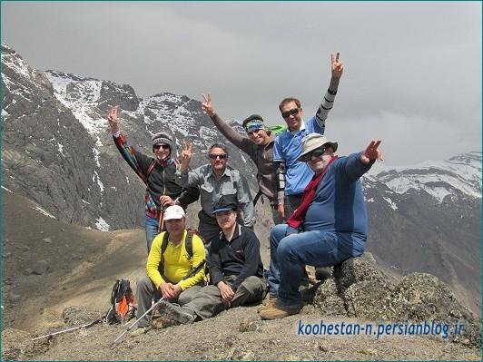 گروه نشاط زندگی - قله عرق چین