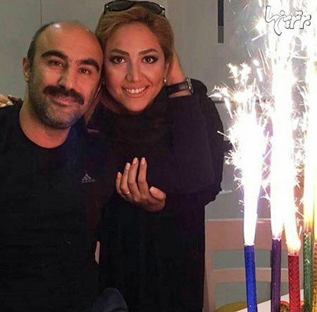 جشن تولد محسن تنابنده با حضور همسرش , چهره های ایرانی