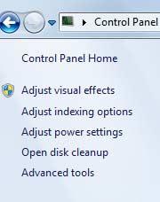 بهبود كارايي وافزایش سرعت ويندوز 7 , کامپیوتر