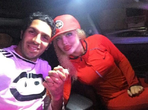 کری خوانی سپهر حیدری و همسرش , اخبار ورزشی