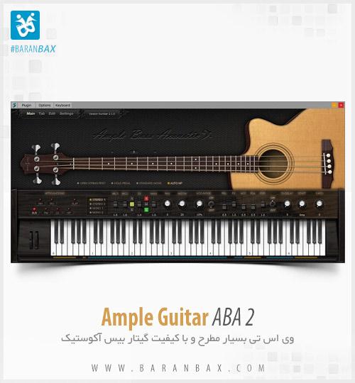 دانلود وی اس تی گیتاربیس آکوستیک Ample Guitar ABA 2