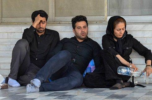 عکس برادر مهرداد اولادی و همسرش , اخبار ورزشی