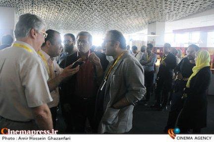 حضور مجری شبکه منوتو در جشنواره بین المل فجر , اخبار فرهنگ وهنر