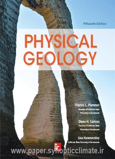 دانلود کتاب زمین شناسی فیزیکی Charles C. Plummer و Diane H. Carlson