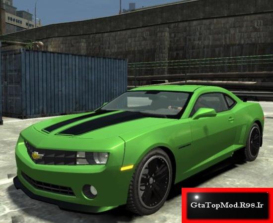 دانلود مود ماشین Chevrolet Camaro 2010  برای Gta Iv