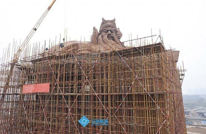 چین از بزرگترین مجسمه دنیا را رونمایی کرد , جالب و خواندنی