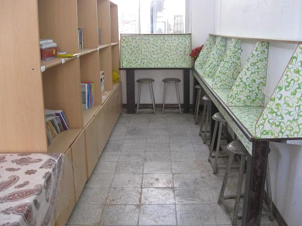 کتابخانه دبیرستان پردیس