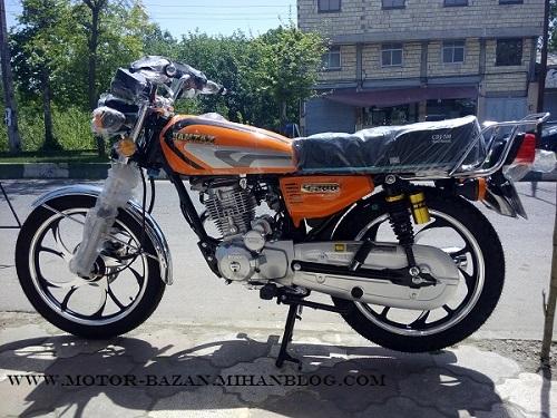 قیمت هوندا 200