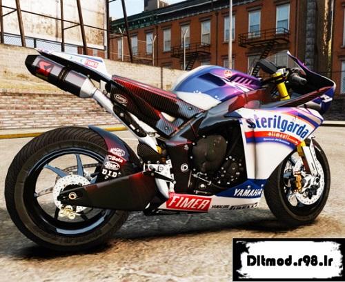 دانلود مود موتور Yamaha برای Gta Iv