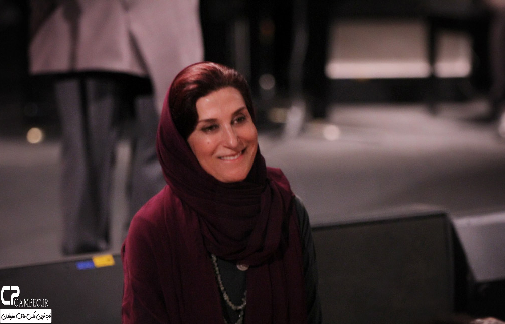 فاطمه معتمد آریا در کنسرت علی زند وکیلی
