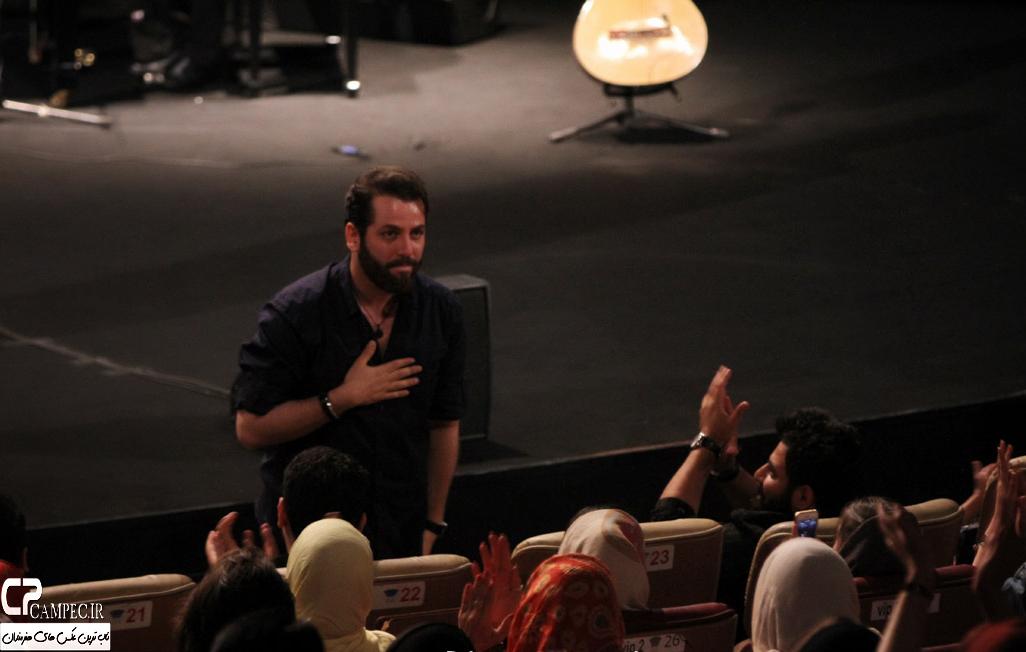 امیر رضا دلاوری در کنسرت علی زند وکیلی