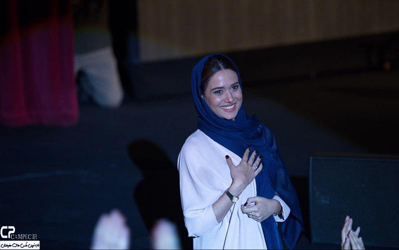 پریناز ایزدیار در کنسرت علی زند وکیلی