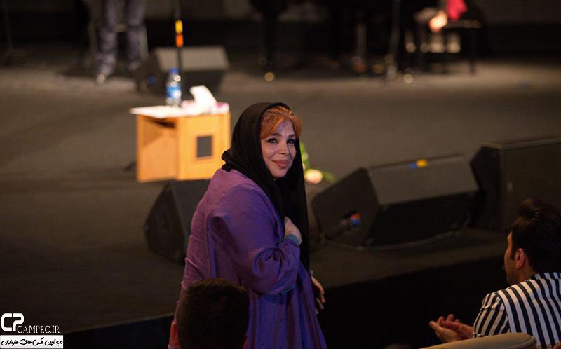 شیوا خنیاگر در کنسرت علی زند وکیلی