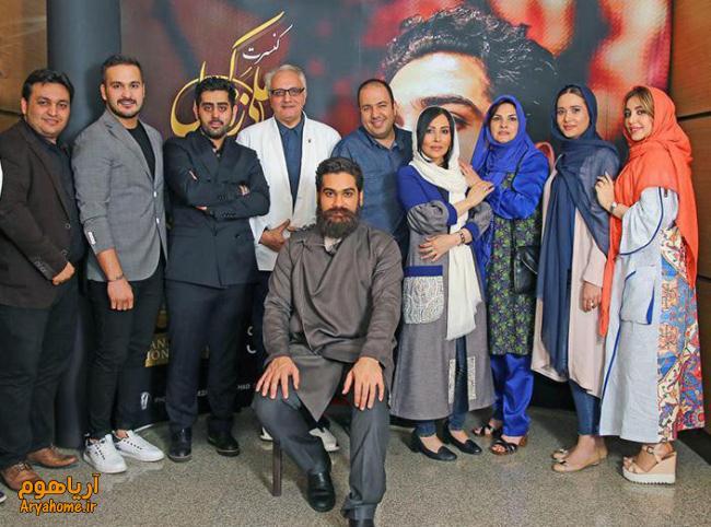 عکسهای هنرمندان در کنسرت علی زند وکیلی اردیبهشت 95 , عکس های بازیگران
