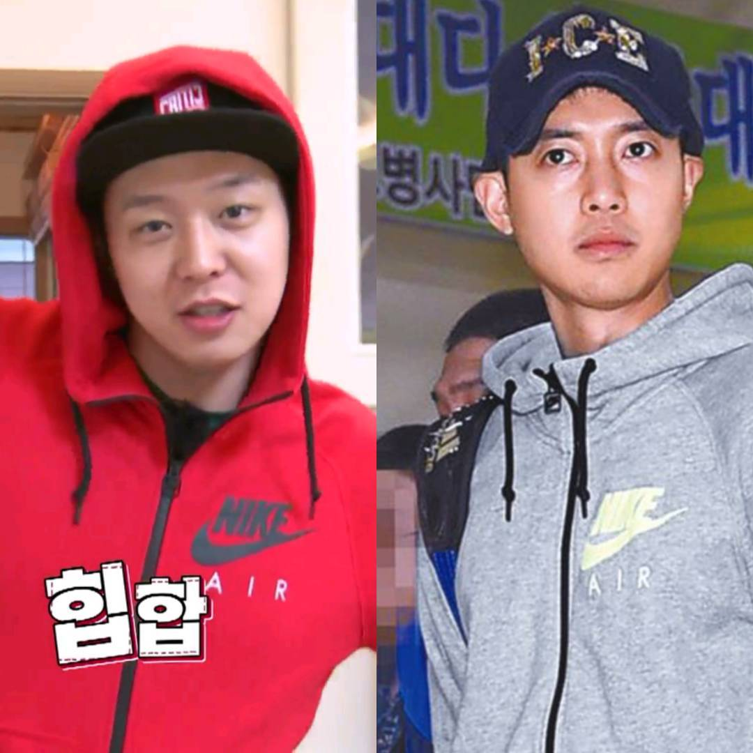 Sponsor - NIKE AIR✔ - Kim Hyun Joong and Park Yoochun