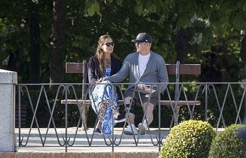 شواین اشتایگر و آنا ایوانوویچ در حال مادرید گردی , اخبار ورزشی