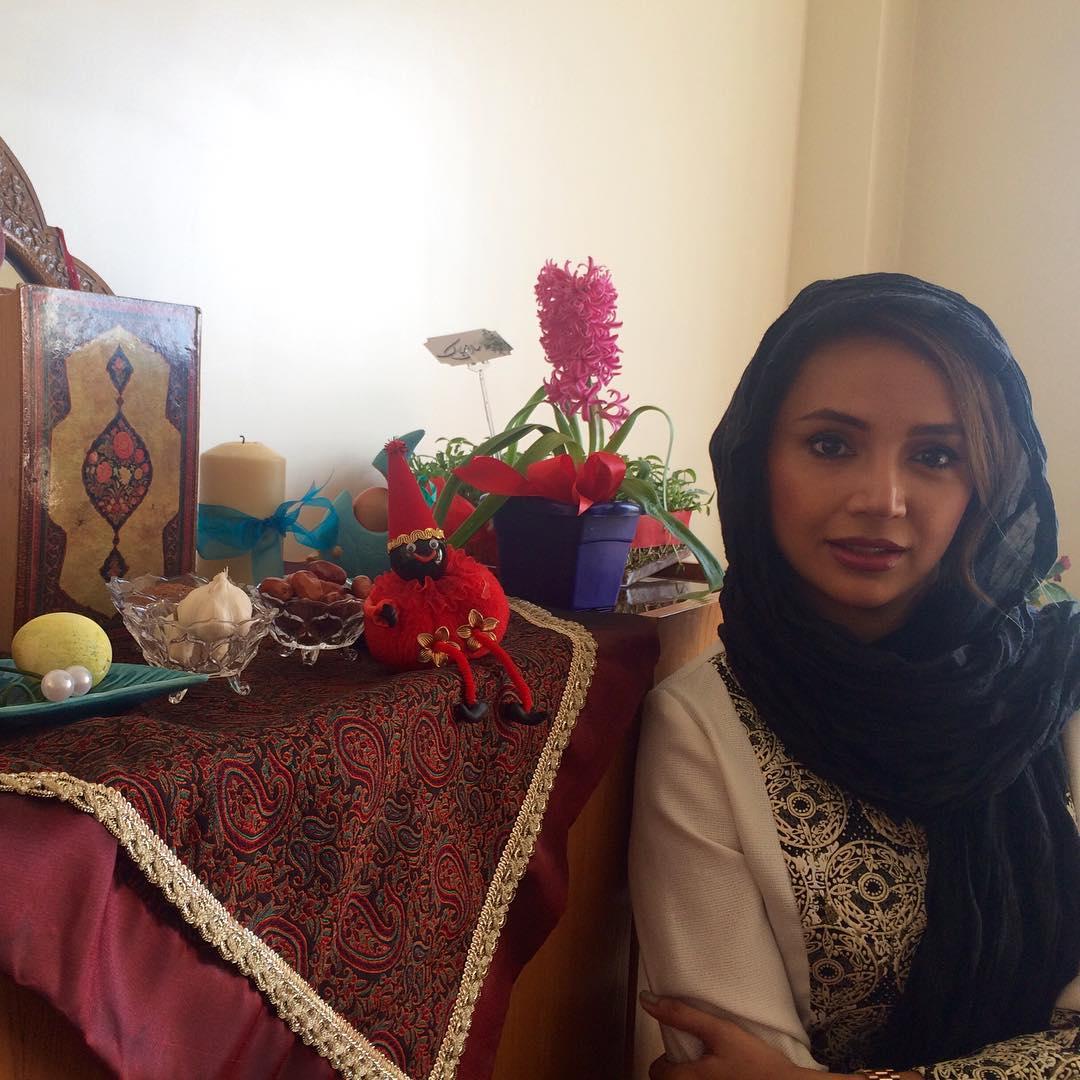 عکس شخصی شبنم قلی خانی در سال جدید