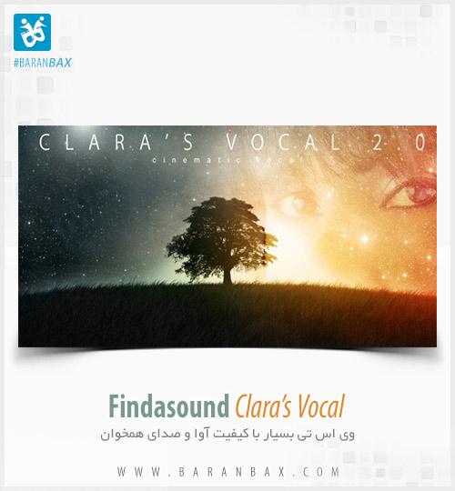 دانلود وی اس تی آوا و صدای همخوان Findasound Clara's Vocal