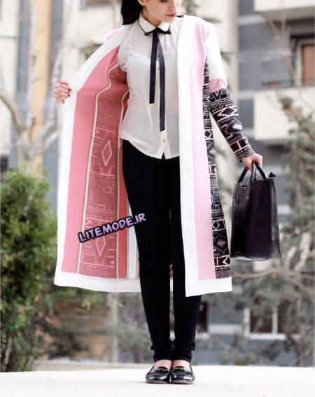 مدل مانتو ایرانی سال 95 برند مهر دیزاین