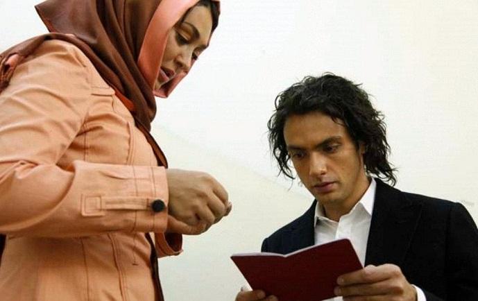 عکس بهاره افشار و امیر علی دانایی فر در فیلم سه درجه تب