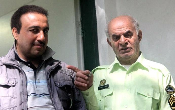 عکس سیروس گرجستانی و رضا عطاران در فیلم سه درجه تب