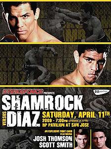 دانلود مسابقات استرایکفورس | Strikeforce: Shamrock vs. Diaz