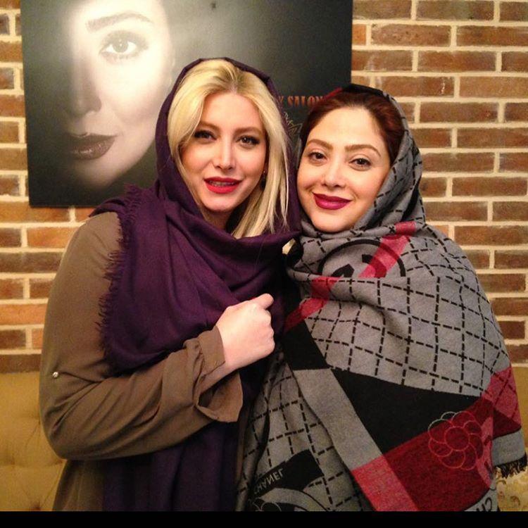 عکس مریم سلطانی با فریبا نادری