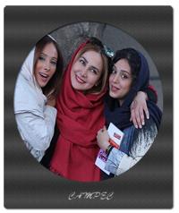 عکسهای هنگامه حمید زاده در اکران فیلم پات