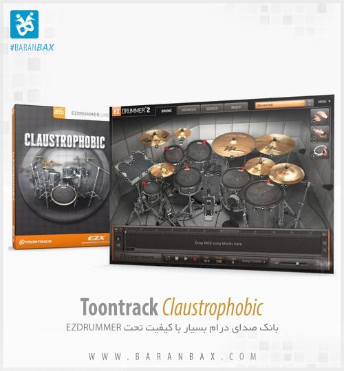 دانلود وی اس تی درامز Toontrack Ezdrummer Claustrophobic