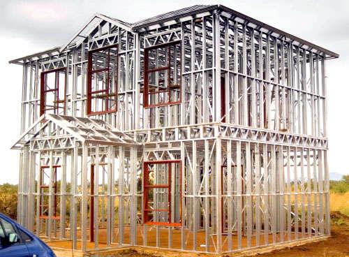 سازه فولادی سرد نورد شده -سیستم LSF