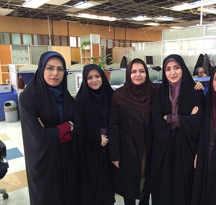 فضه سادات حسینی مجری و گوینده خبر