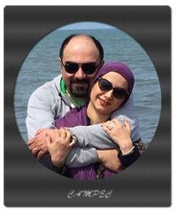 بیوگرافی و عکسهای برزو ارجمند با همسر و فرزندش