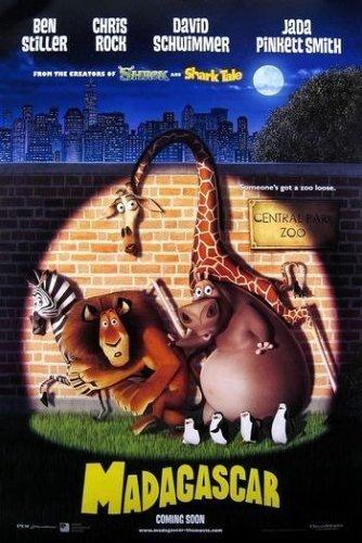 دانلود رایگان انیمیشن دوبله فارسی ماداگاسکارا 1 2005