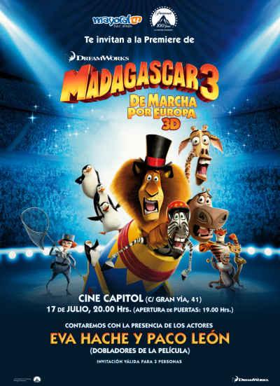 دانلود رایگان انیمیشن دوبله فارسی ماداگاسکار 3 2012