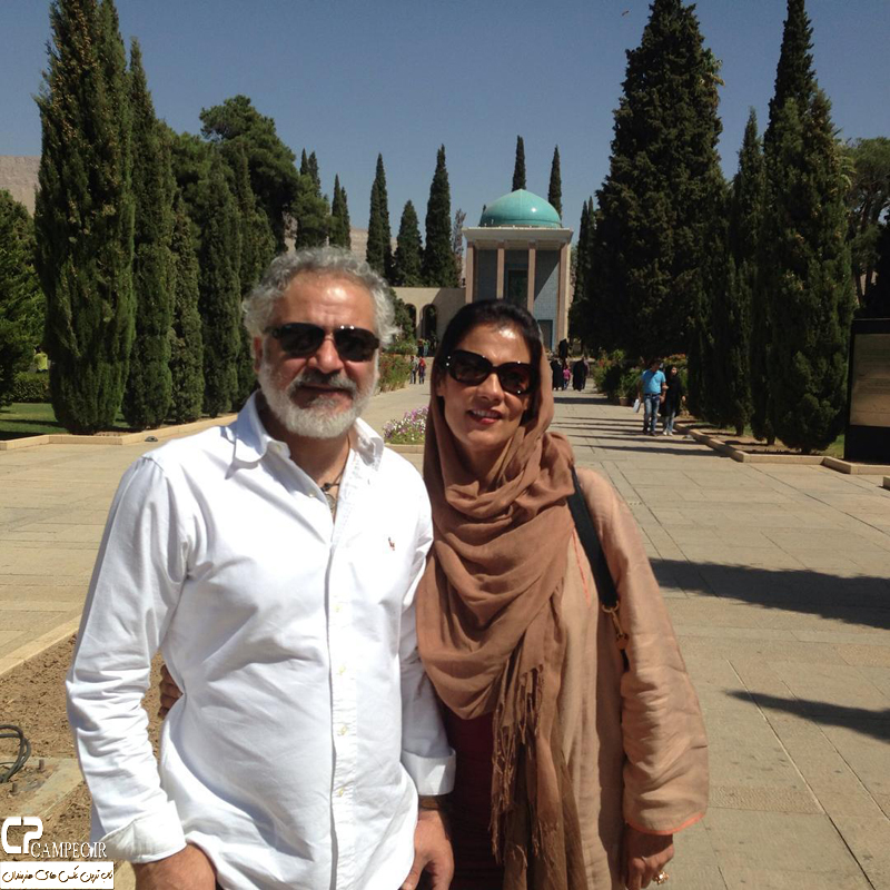 عکس شخصی مجید مشیری و همسرش