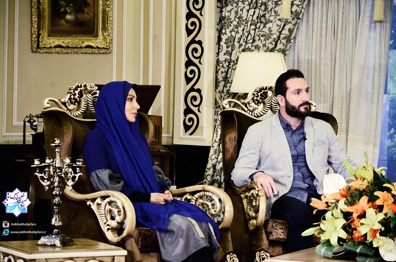 پرستو صالحی و ادموند بزیک در برنامه صبح خلیج فارس