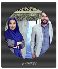 عکسهای پرستو صالحی و ادموند بزیک در برنامه صبح خلیج فارس