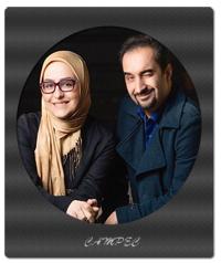 عکسهای نیما کرمی با همسرش