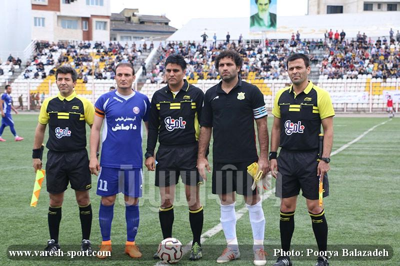 گزارش تصویری بازی داماش گیلان و نفت آبادان