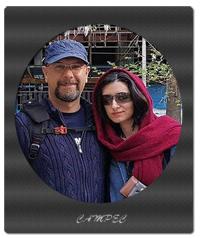 بیوگرافی و عکس محمد بحرانی با همسرش